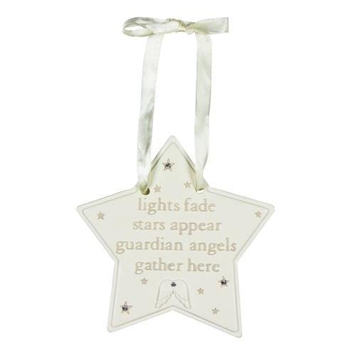 Guardian Angel Hanging Plaque