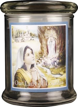 Our Lady of Lourdes LED Candle