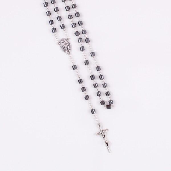 Hemitite Rosary Beads Square