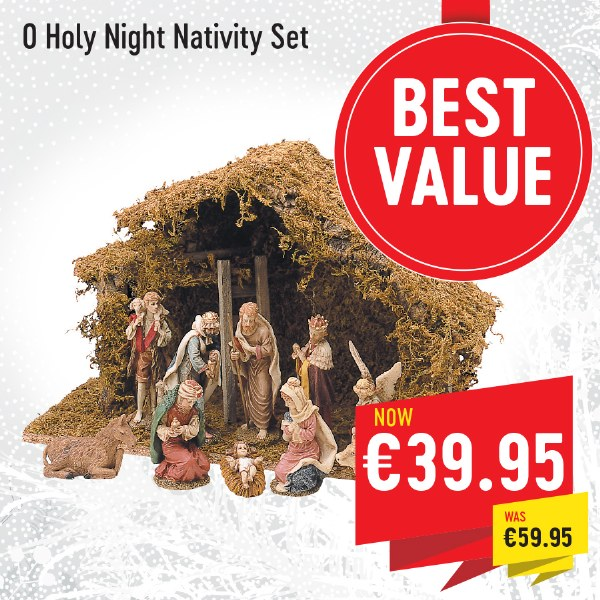 O Holy Night Nativity Set
