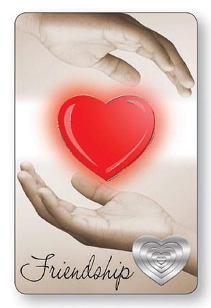 Friendship Laminated Prayer Leaflet
