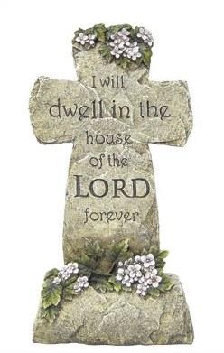Resin Grave Cross (40cm)