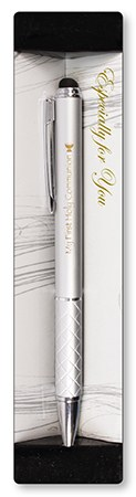 Silver First Holy Communion Pen