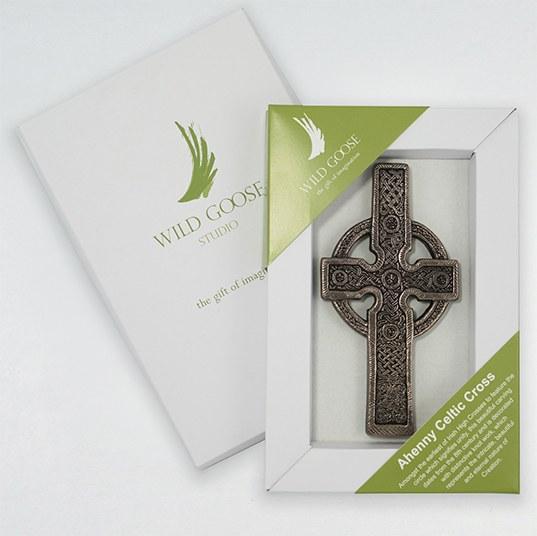 Ahenny Celtic Cross - Wild Goose Art