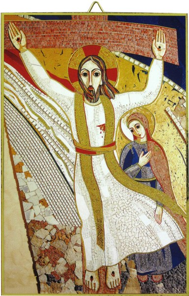 Crucifixtion Mosaic Icon