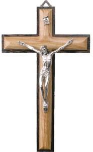 Olive Wood Crucifix (20cm)