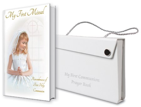 Girl First Holy Communion Missal