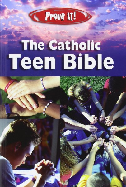The Catholic Teen Bible, NAB, revised, blue