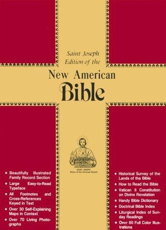 NAB Deluxe Gift Bible, Black Leather, gilt