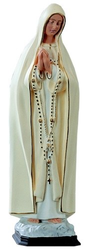 Our Lady of Fatima Outdoor Statue (40cm)