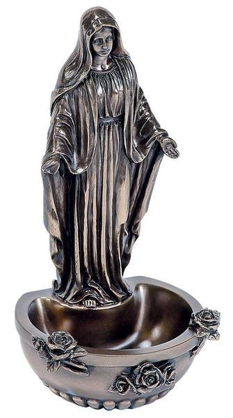 Blessed Virgin Holy Water Font - Genesis