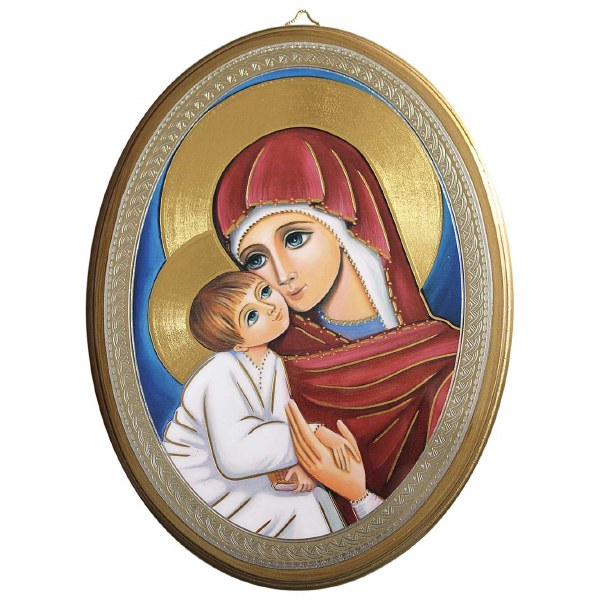 Madonna and Child Icon (20 x 15cm)
