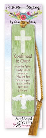 Symbolic Confirmation Artmetal Bookmark
