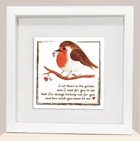 RC004 You Mean To Me Red Robin Frame