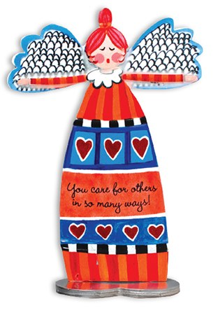 You Care For Others Artmetal Angel 13cm