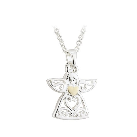 First Holy Communion Angel Necklet