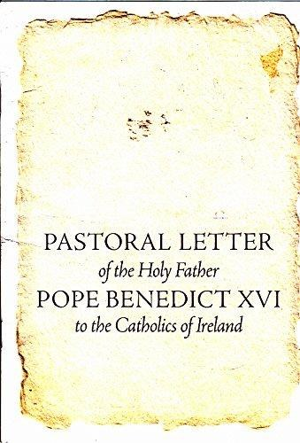 Pastoral Letter of the Holy Father Pope Benedict X