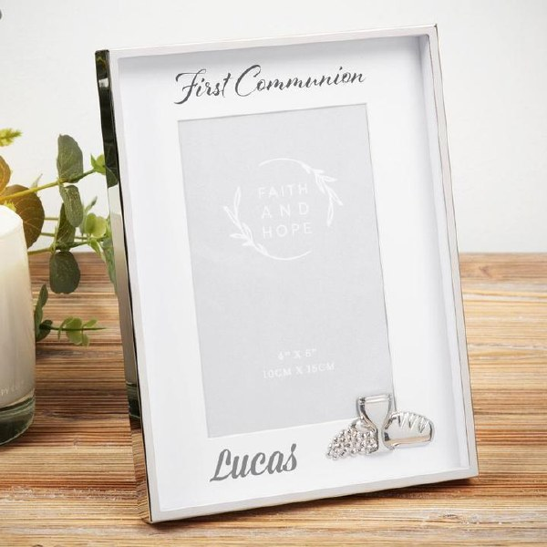 FH126COM Faith and Hope First Holy Communion Frame