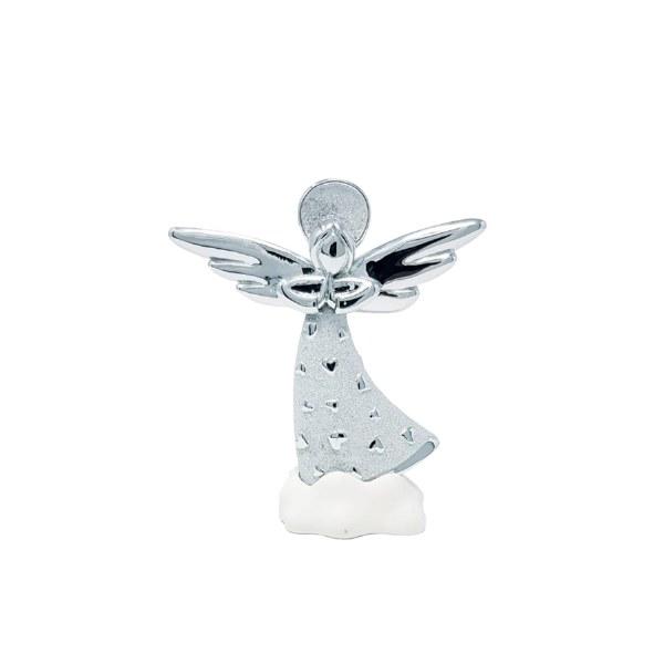 Silver Praying Angel (9cm)