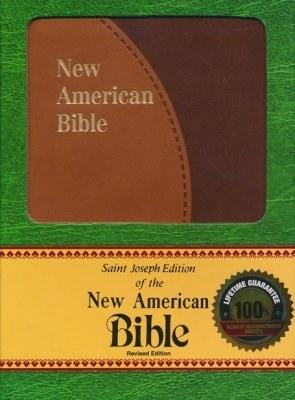 St Joseph NAB Personal Gift Bible Brown Duotone