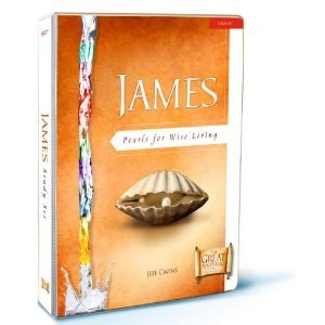 James: Pearls for Wise Living, Study set with bind