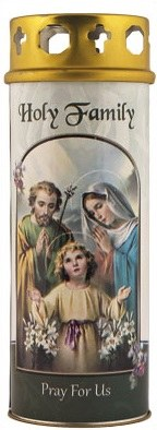 Candle Holy Family Windproof Cap