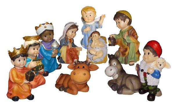 Follow The Star Outdoor Nativity Set (60cm)