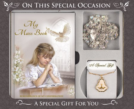 Confirmation Giftset for Girl