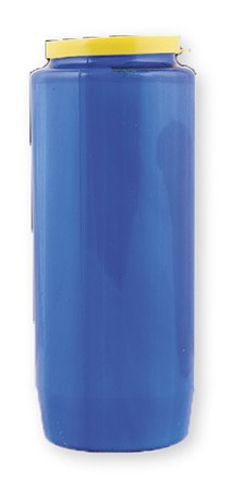 Blue 7 Day Sanctuary Candle