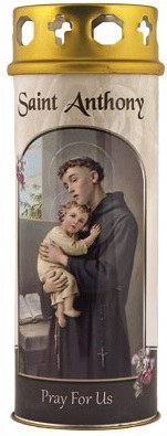 St Anthony Windproof Cap Candle