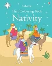 Usborne First Colouring Book Nativity