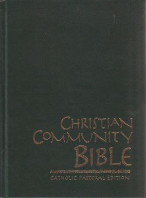 Christian Community Bible Large Print
