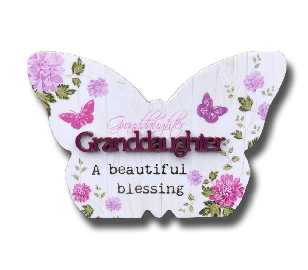 Granddaughter Blooms Butterfly