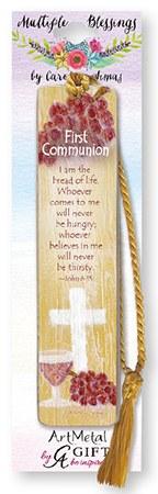 First Holy Communion Artmetal Bookmark