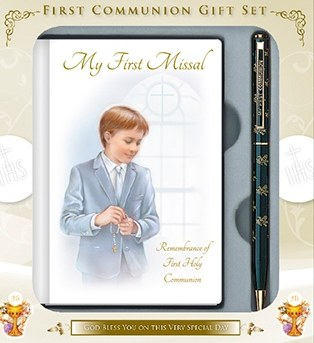 Boy First Holy Communion Giftset