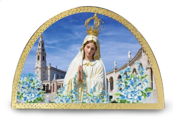 Our Lady of Fatima Arch Plaque