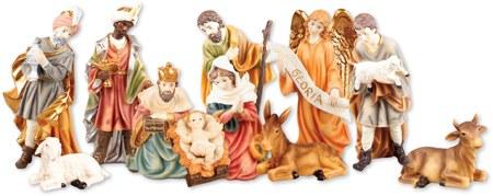 Gloria Excelsis Outdoor Nativity Figures (25cm)