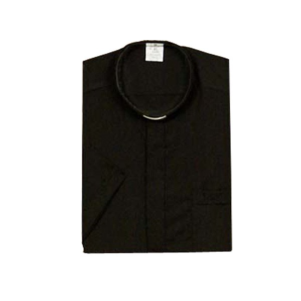 Black Clergy Shirt