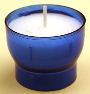 6 Hour Red Devotional  Votive Candle