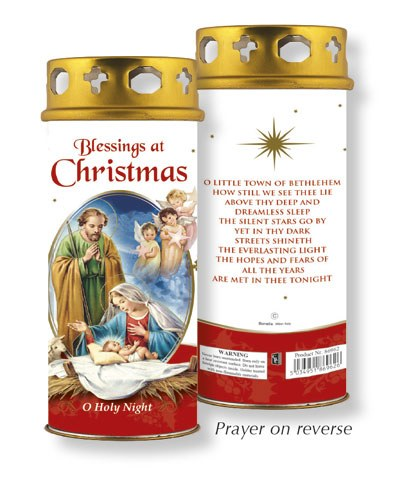 Christmas Blessings Candle