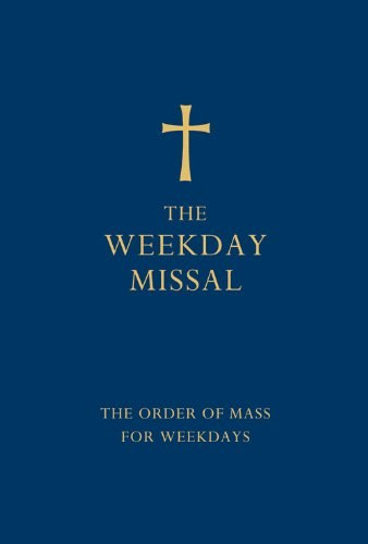 The Weekday Missal blue