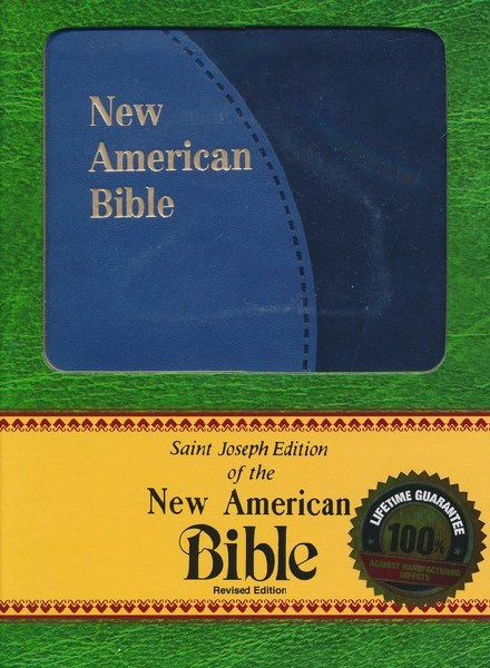 St Joseph NAB Personal Gift Bible Blue duotone