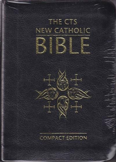 CTS New Catholic Bible, Black Compact Flexi Bound