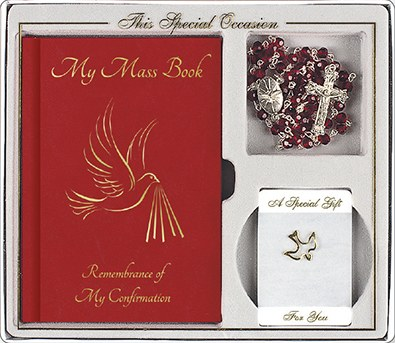 Confirmation gift set with Prayer book