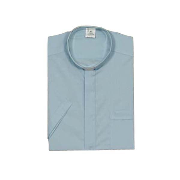 Blue Clergy Shirt