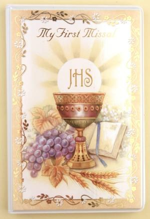 My First Missal with Symbolic Design for Holy Communion