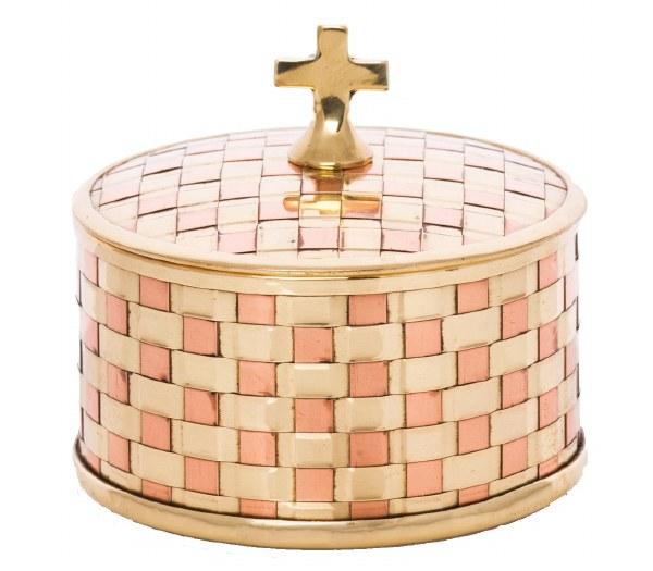 Brass Host Container (6cm x 7cm)