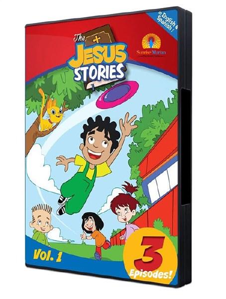 The Jesus Stories Vol 1 DVD