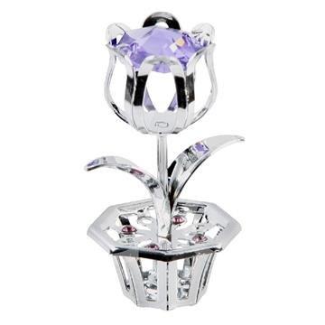 Tulip Crystal Flower