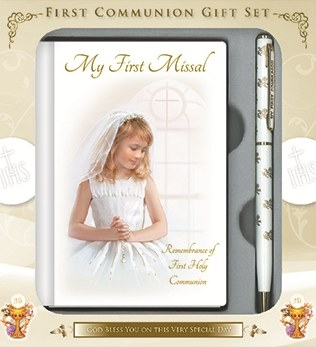 Girl First Holy Communion Gift Set